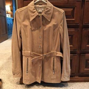Beautiful Michael Kors genuine suede coat